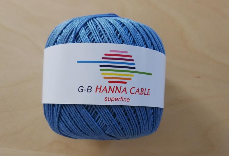 Baumwolle Cablé Hanna Superfine