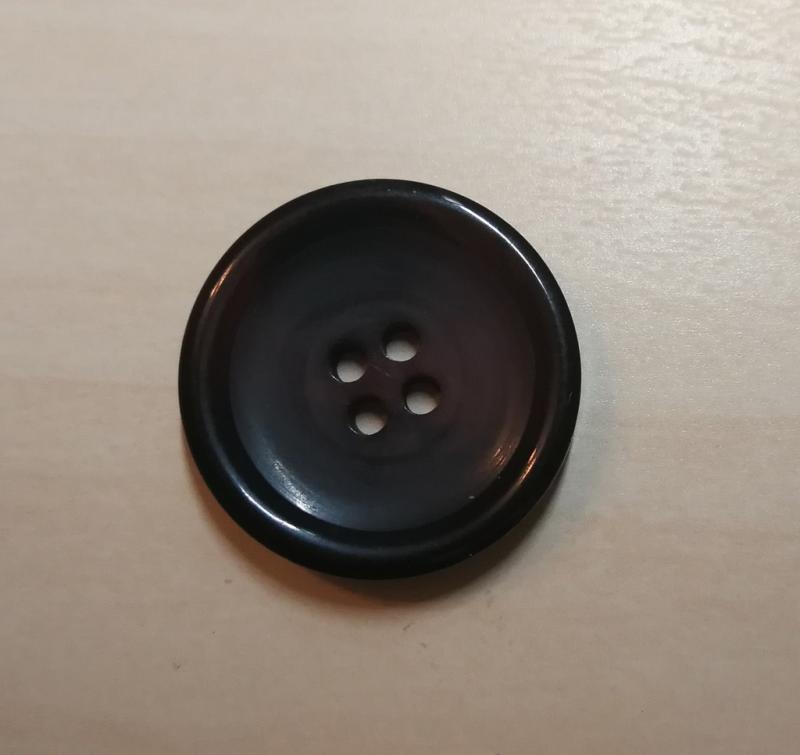 marmorierter Knopf