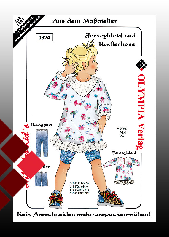 Jerseykleid + Radler